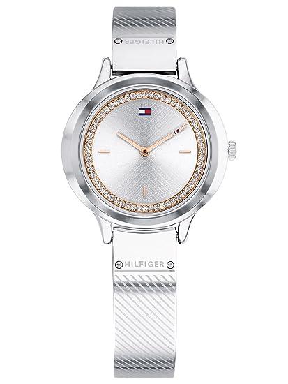 Tommy Hilfiger Reloj Analógico para Mujer de Cuarzo con Correa en Acero Inoxidable 1781909: Amazon.es: Relojes