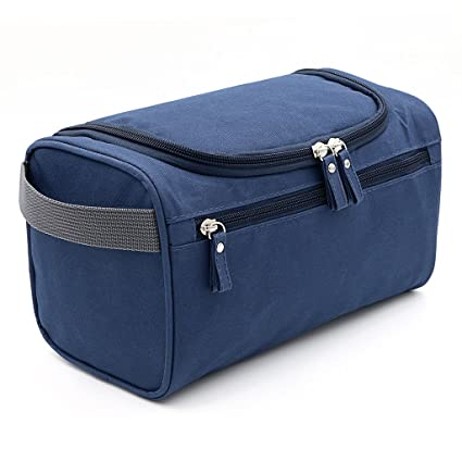 9be749aa1f3 Image Unavailable. Image not available for. Color  Hipiwe Hanging Travel  Toiletry Bag Travel Size Waterproof Shaving Grooming Dopp Kit ...