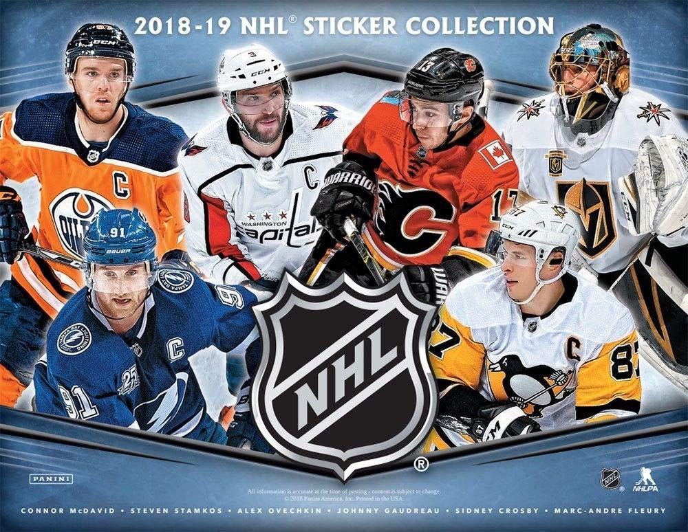 Panini NHL Sticker Refill Box, Small, Black by Panini