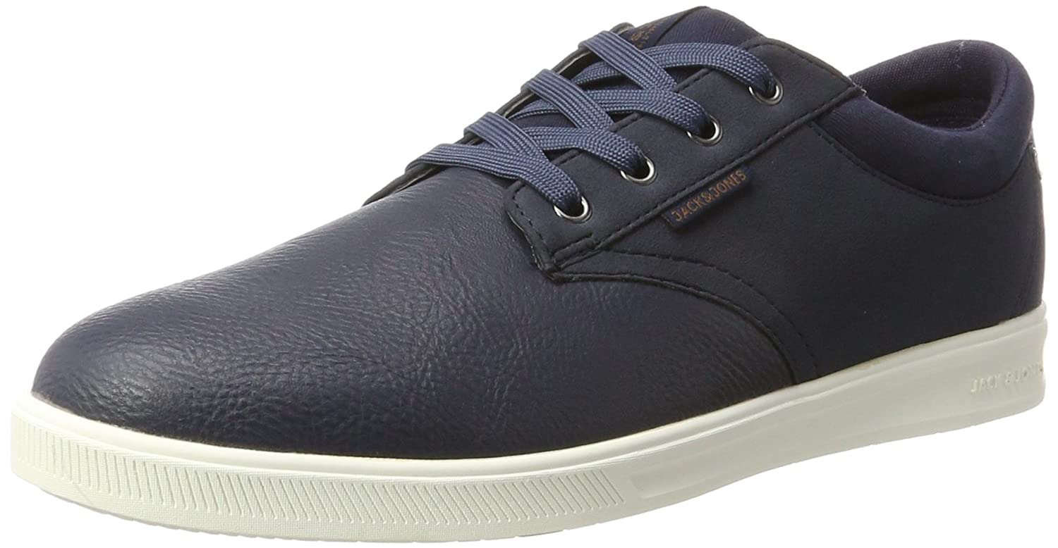Jack & Jones Jfwgaston PU Mix, Zapatillas para Hombre, Azul (Navy Blazer), 41 EU