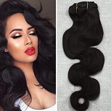 Amazon ugeat 10inch clip in human hair extensions body wave ugeat 10inch clip in human hair extensions body wave clip ins 100 brazilian real human pmusecretfo Choice Image