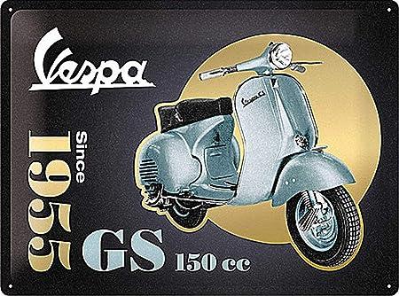 Nostalgic-Art Vespa-GS 150 Since 1955-Special Edition Señal ...