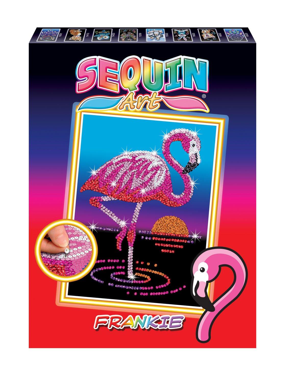 Mammut 8011804 Sequin Tipo Red Flamingo, Aprox. 36 X 27 Cm, Multicolor