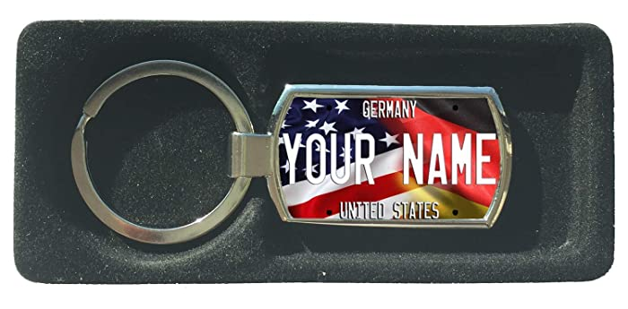 ae0c7835d115 Amazon.com: BRGIftShip Personalize Your Own Mixed USA and Germany ...