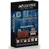Coconix Floor and Furniture Repair Kit - Restorer of Your Wooden Table, Cabinet, Veneer, Door and Nightstand - Super Easy Ins