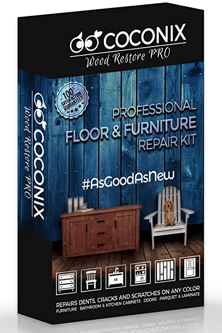 Stupendous Coconix Floor And Furniture Repair Kit Restorer Of Your Wooden Table Cabinet Veneer Door And Nightstand Super Easy Instructions Matches Any Download Free Architecture Designs Barepgrimeyleaguecom