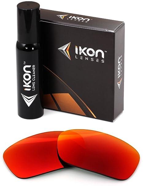 d26cdf7b2fa Polarized Ikon Iridium Replacement Lenses for Oakley Fives Squared  Sunglasses - + Red Mirror