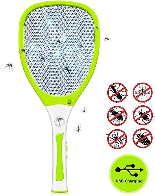 Urslif - Raqueta eléctrica para deshacerse de trampas de Mariposas ...