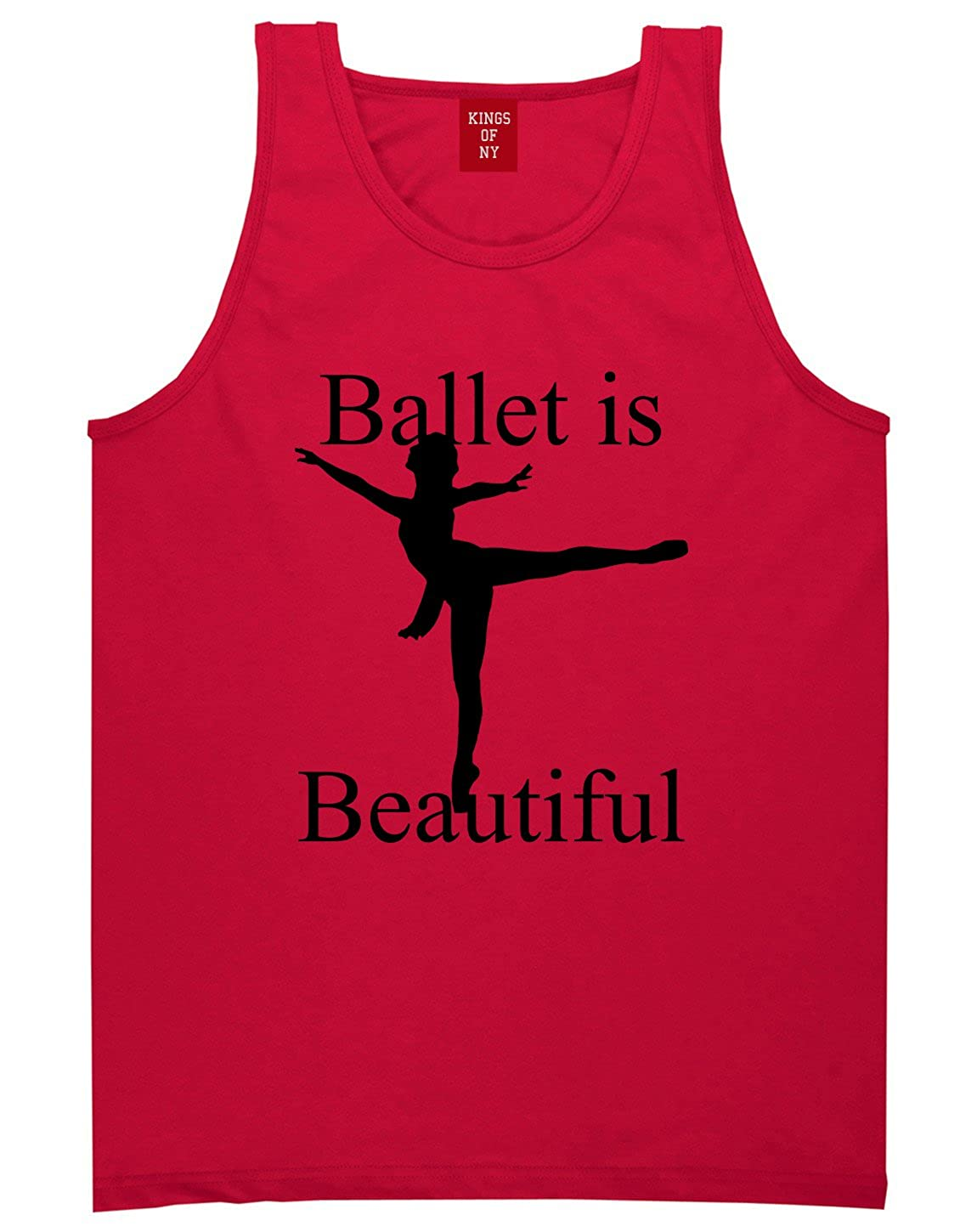 Ballet Ballerina is Beautiful Style funny Dad Tank Top