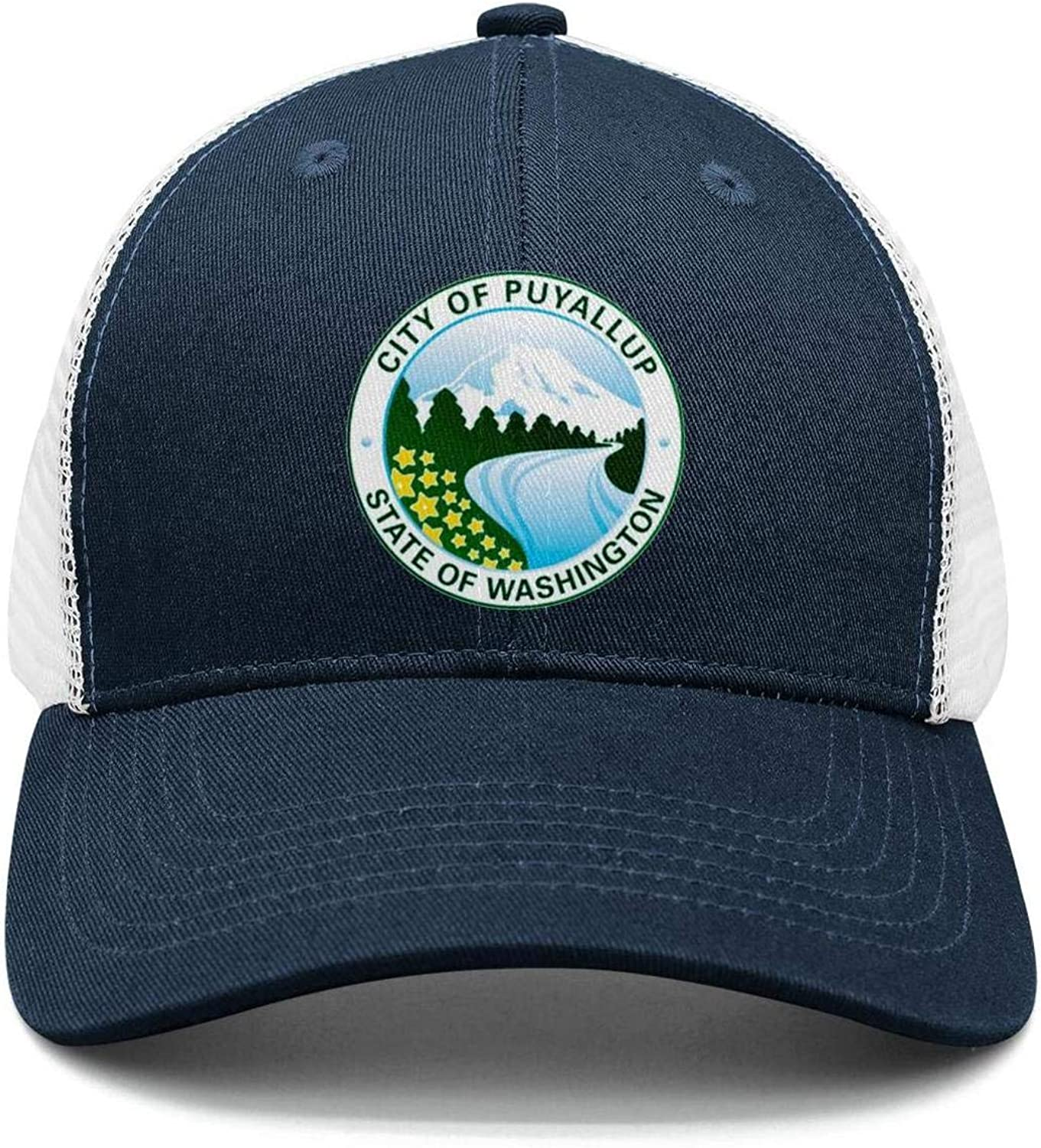 smsdpmc Bellingham-Funny-Washington Cotton Casual Trucker hat Adjustable Fits Mesh Baseball Caps for Man and Woman