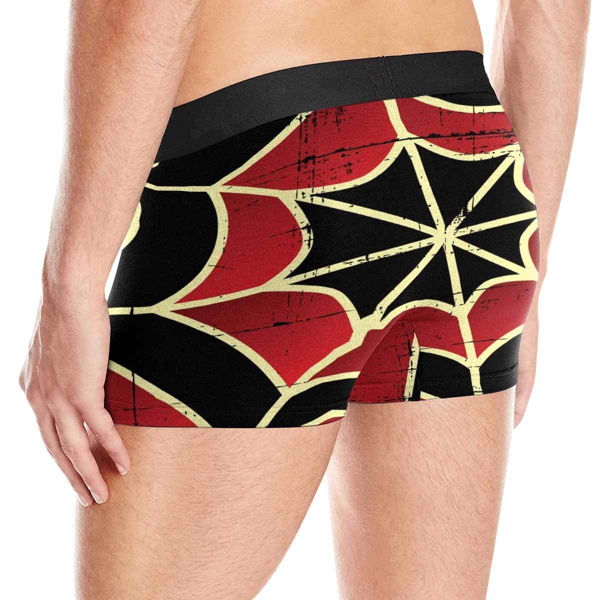 XS-3XL INTERESTPRINT Boxer Briefs Mens Underwear Colorful Spider