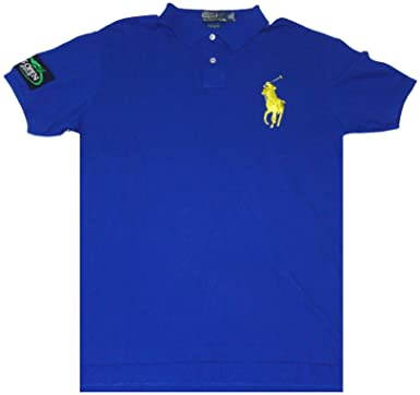 27570174 Image Unavailable. Image not available for. Color: Polo by Ralph Lauren  Mens Short Sleeve Neon Big Pony US Open Shirt ...