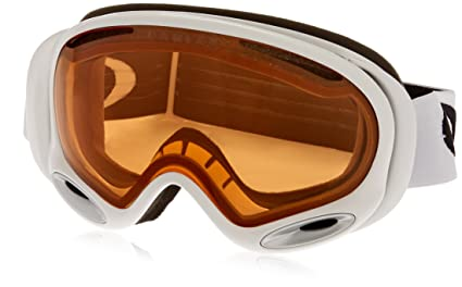 7cc7485defa Oakley A Frame 2.0 Adult Snow Snowmobile Goggles Eyewear - Polished  White Persimmon   One