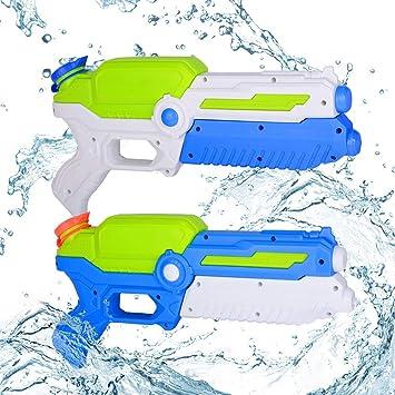 INTVN 2 Pack Pistola de Agua, Pistola de Agua de Juguete para ...