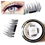 Amazon Price History for:New False MAGNETIC Eyelashes by CoeurX, 1 Pair 4 Pieces | 0.2mm Ultra Thin Fake Mink Eyelashes for Natural Look | Reusable Best Fake Lashes | Cruelty Free | Perfect for Deep Set Eyes & Round Eyes