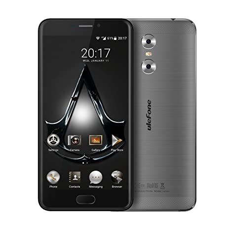 "Haehne Ulefone Gemini, 5,5"" HD 4G Smartphones, Android 6.0 3GB 32GB"