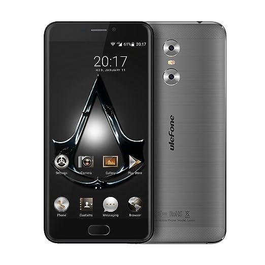 "8 opinioni per Haehne Ulefone Gemini, 5,5"" HD 4G Smartphone, Android 6.0 3GB+32GB, 5MP+13MP"