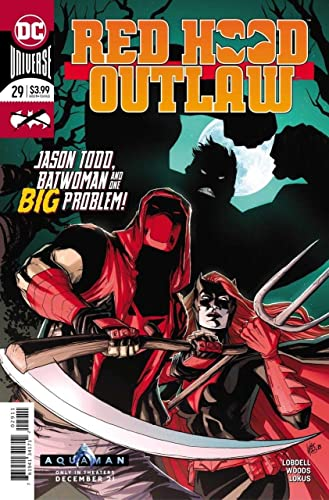 Red Hood Outlaw #29A Woods Variant NM 2019 Stock Image