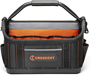"Crescent 17"" Tradesman Open Top Tool Bag, CTB1710"