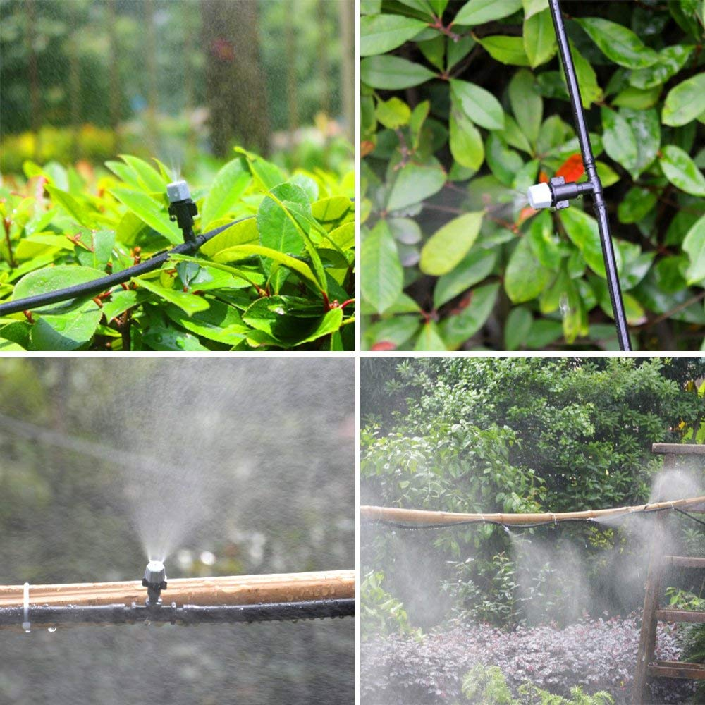40pcs Sprinkler Heads Nozzle for Watering Flowers Vegetables 7.5-8.6 L//H