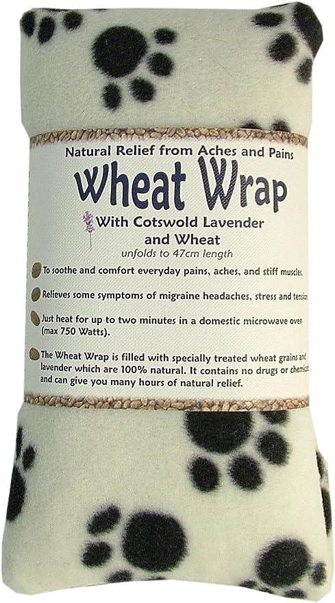 Vagabond bags - Saco térmico con semillas de trigo y lavanda de cotswold (forro polar