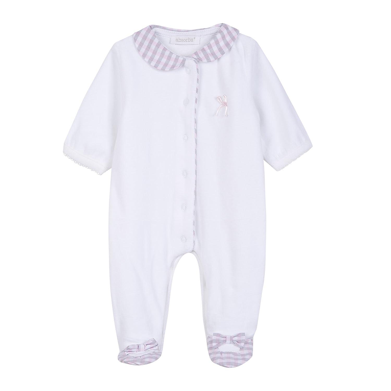 Absorba Baby Dors Bien Onesie Pink (Rose 30) 6-9 (Size: 6 Months) 9L54201