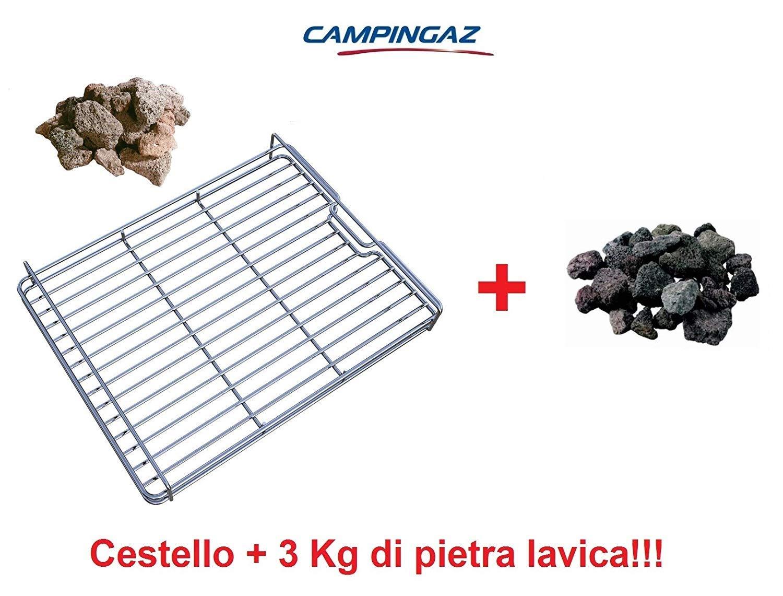 ALTIGASI - Cesta Roca Piedra volcánica para Barbacoa 3 y 4 Series ...