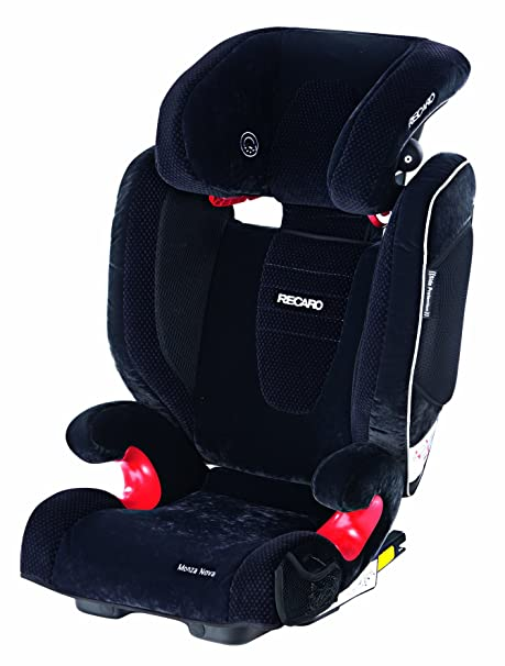 Recaro 61472110966 Monza Nova Seatfix - Silla para coche (Grupo 2/3, hasta 36 kg, 36-144 meses, color negro)
