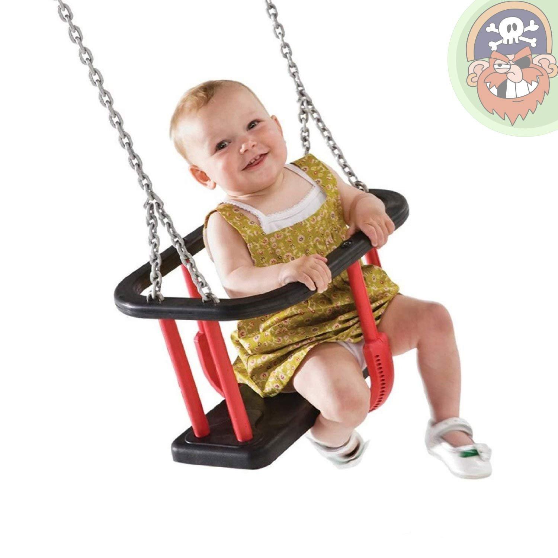 Babyschaukelsitz mit Kette EN 1176 für öffentlicher Bereich von Gartenpirat®