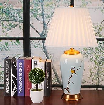 Neue China   Style All   Kupfer Keramik Tischlampe High   End Wohnzimmer  Schlafzimmer Kreative Hand