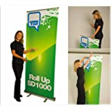 roll up banner display, impresión incluida