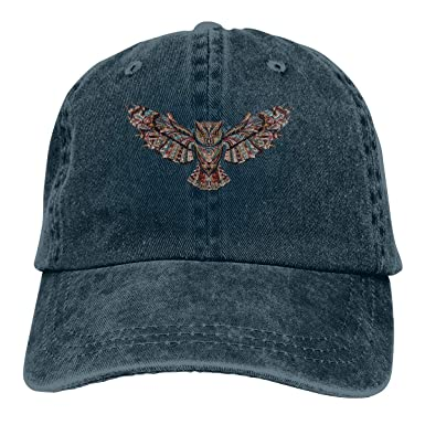Flying Owl Retro Ajustable Cowboy Denim Hat Unisex Hip Hop Gorras ...