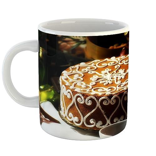 Amazon Com Westlake Art Coffee Cup Mug Birthday Cake Modern