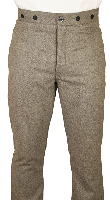 Edwardian Men's Pants Peabody Dress Trousers $75.95 AT vintagedancer.com