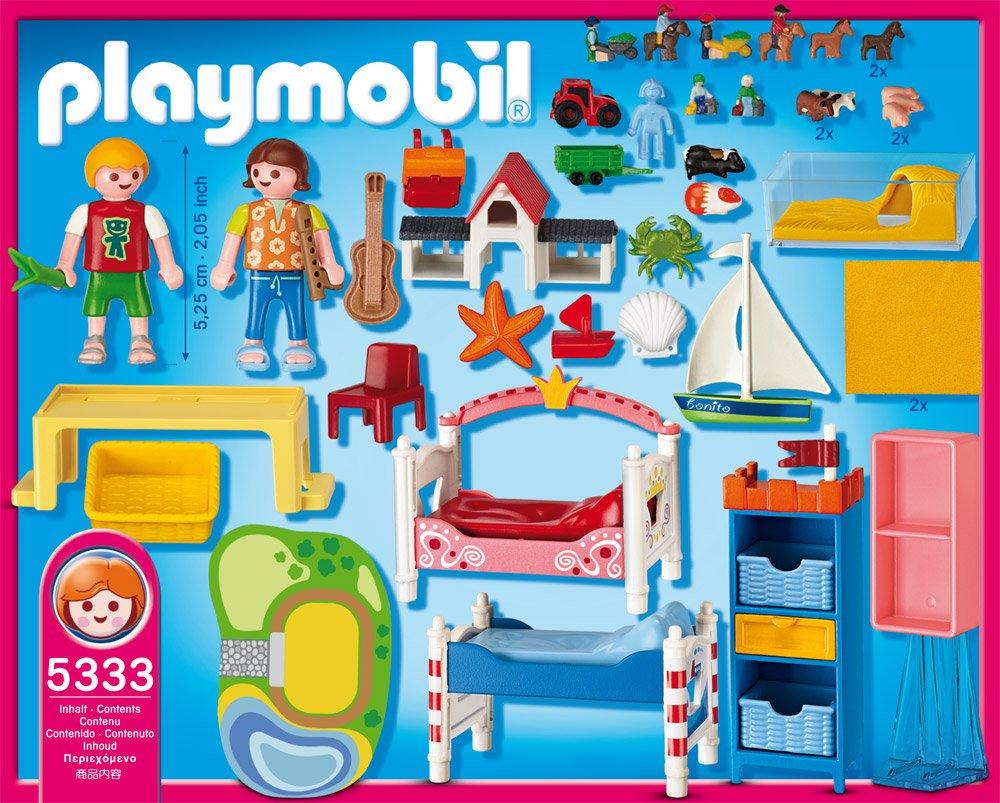 Playmobil 5333 - Fröhliches Kinderzimmer: Amazon.de: Spielzeug