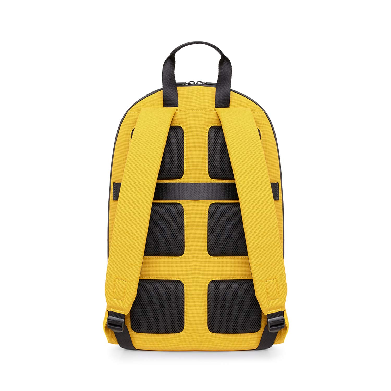 Moleskine Metro Backpack, Orange Yellow -  For Work, School, Travel & Everyday Use, Space for Devices, Tablet, Laptop, & Chargers, Notebook Planner or Organizer, Padded Adjustable Straps Secure Zipper by Moleskine (Image #2)