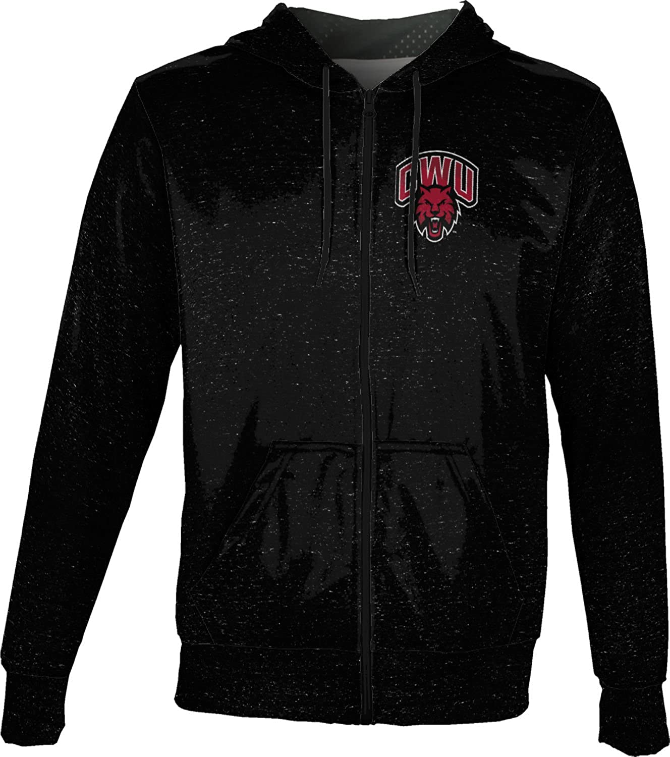 Heather ProSphere Central Washington University Boys Full Zip Hoodie