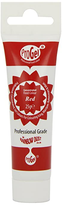 Amazon.com : 1 X Pro-Gel Food Colouring - Red : Food Coloring ...