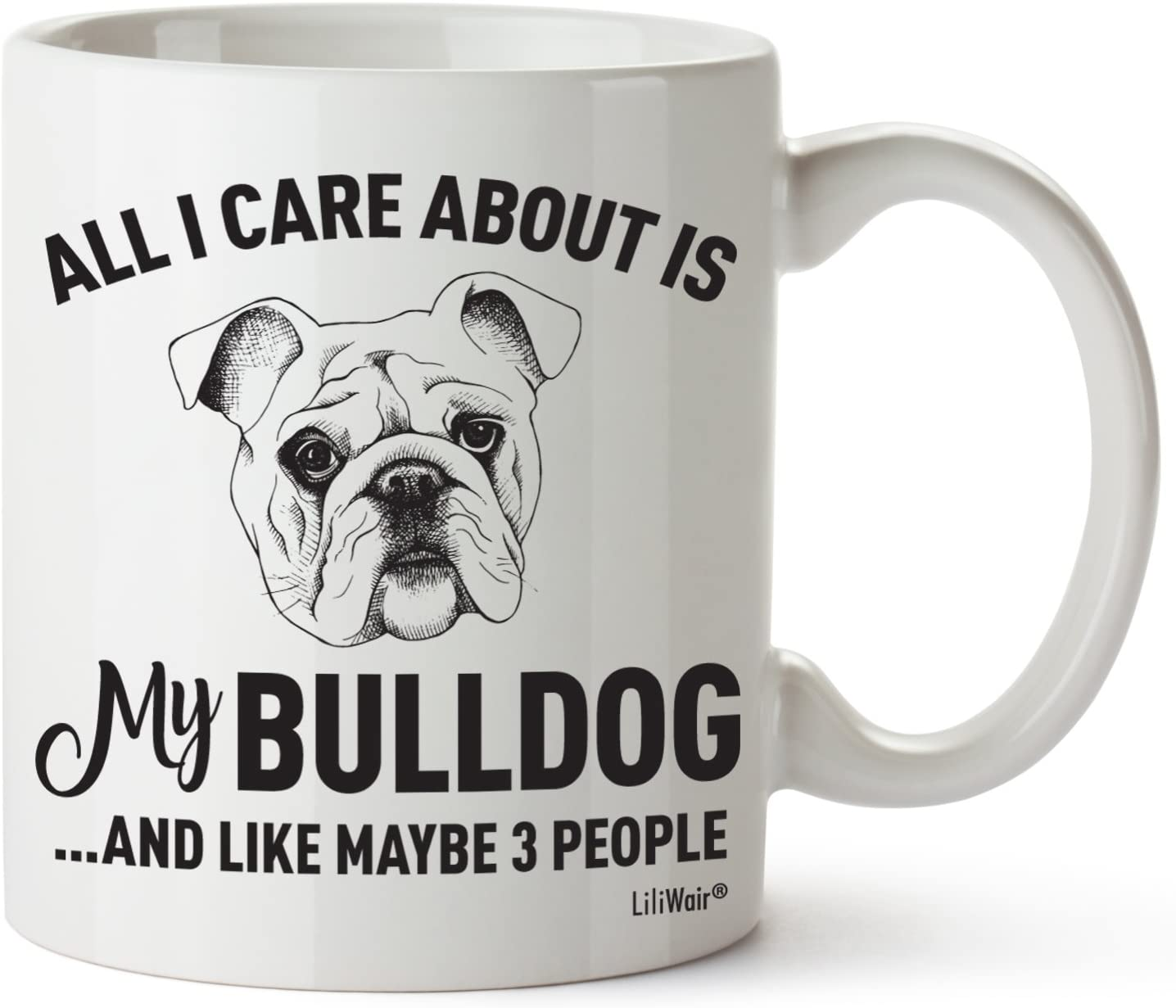 Bulldog Mom Gifts Mug For Christmas Women Men Dad Decor Lover Decorations Stuff I Love Bulldogs Coffee Accessories Talking Art Apparel Funny Birthday Gift Home Supplies Products Dog Coffee Cup Mugs