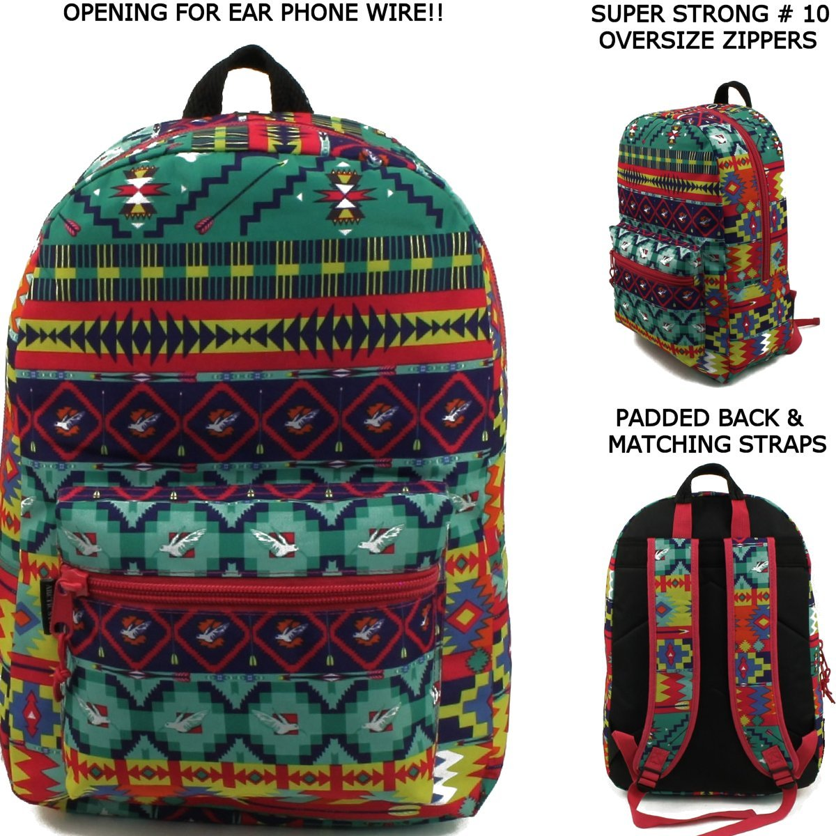 17'' Wholesale Padded Fashion Backpack - Case of 24 by Arctic Star (Image #2)