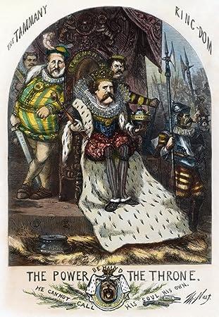 Amazon Com Cartoon Boss Tweed 1870 A Cartoon By Thomas Nast