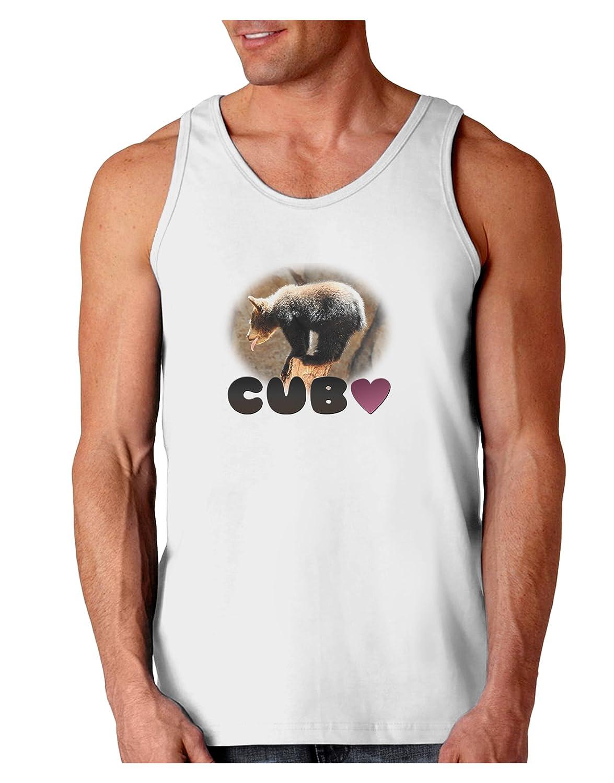 TooLoud Balancing Bear Cub with Text Loose Tank Top