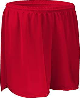 "product image for PT403W 4"" Performance Athletic Solid Sport Running Short with Inner Brief (XX-Large, Red)"