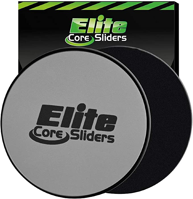 2 x Exercise Sliding Gliding Fitness Disc Core Slider Sport Full Body Workout