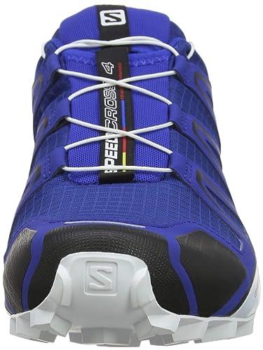 Salomon Herren Speedcross 4, Trailrunning Schuhe, Blau (Mazarine Blue), 46 23 EU