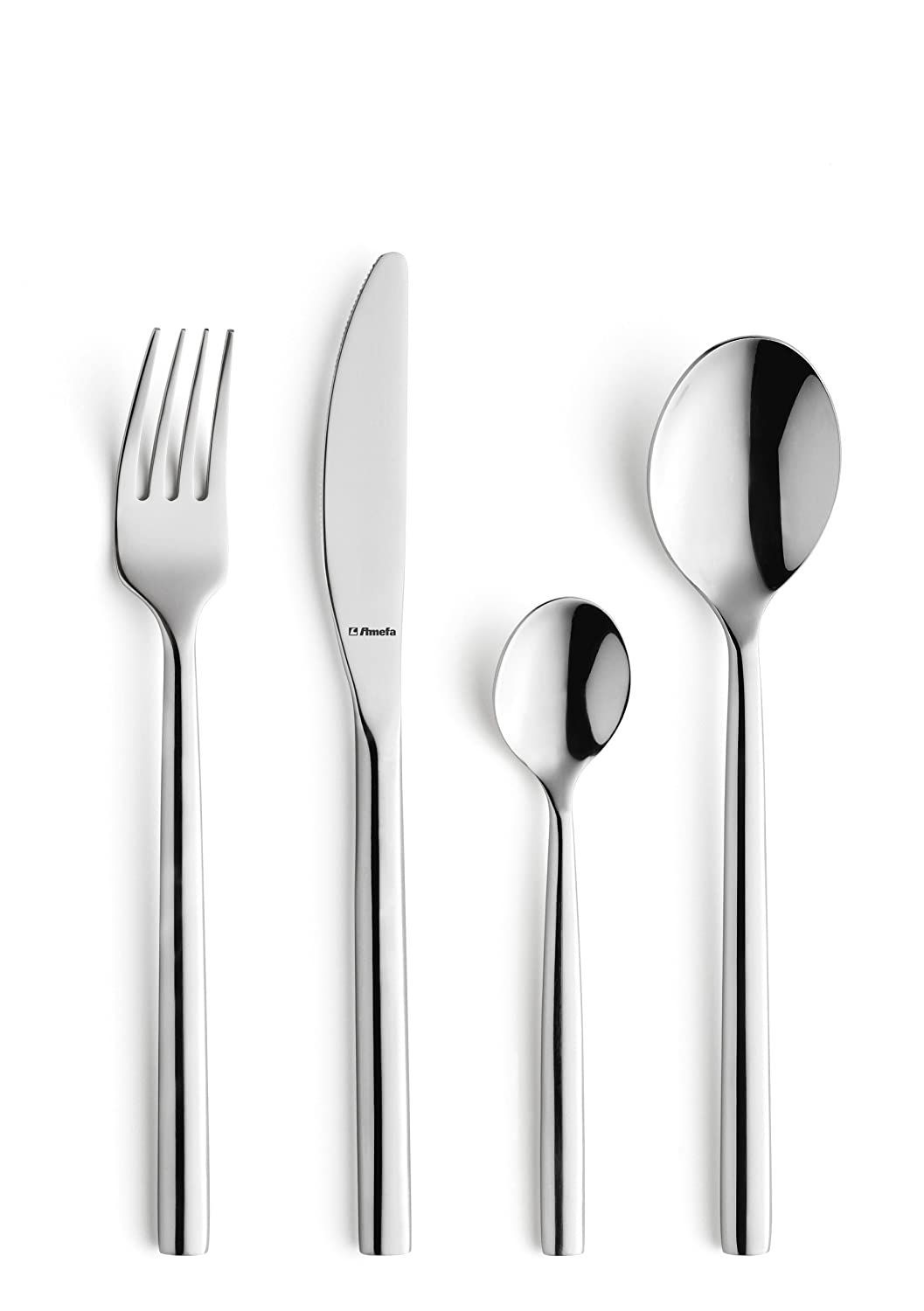 Amefa Modern Premium Carlton Cutlery Set for 8 People, Set of 32 1050BX32 Cutlery_Sets_Stainless_Steel Monogram Stainless Steel