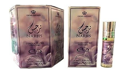 Business Square Al Rehab Narjis Musk Perfume 6 ml 100% Oil