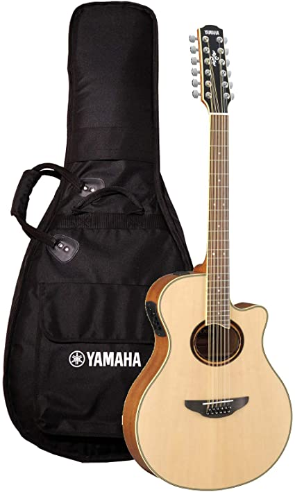Yamaha APX700II 12 String Acoustic Electric Guitar Natural