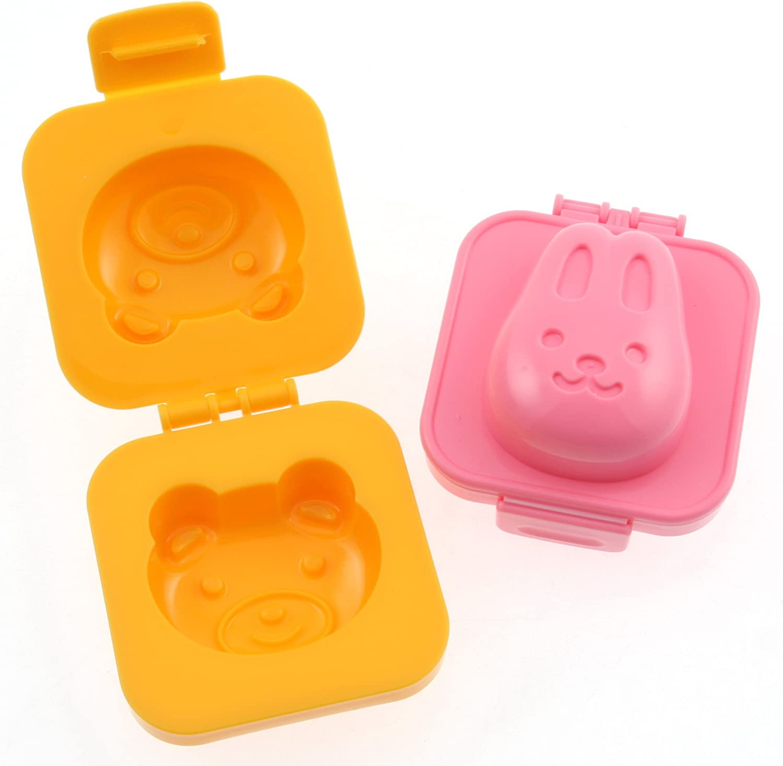 Lapin et Ours Kotobuki Plastique Moule /à Oeuf