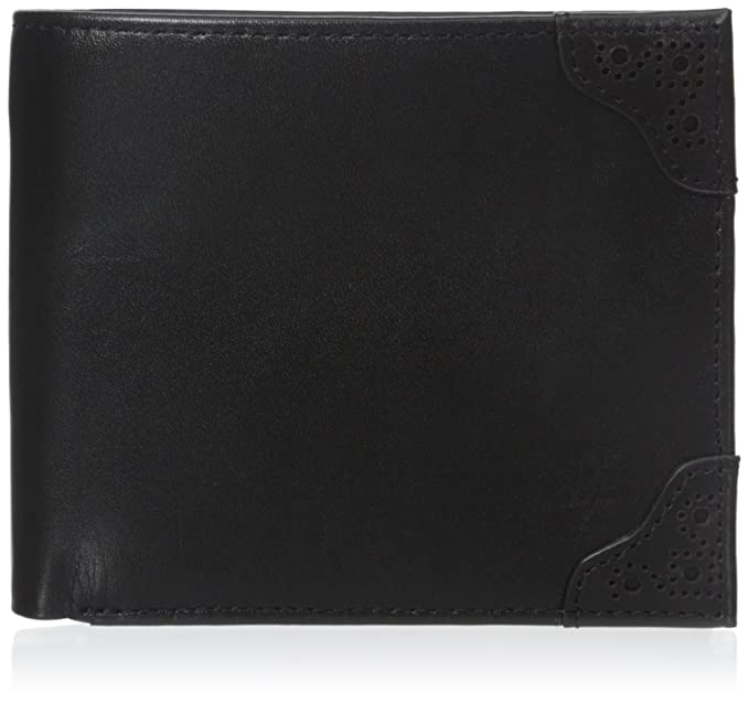Negro Brogue Detalle Billetera cartera de Fred Perry: Amazon.es: Ropa y accesorios